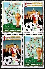 UNMOUNTED MINT 2006  - FIFA WORLD CUP  - TURKISH CYPRUS