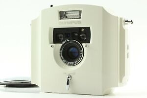 [Mint+++] Olympus Ecru 35mm Film Camera Limited Edition 20000 from Japan #2105-5