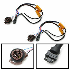 3157 4157 LED Turn Signal/Brake Light Hyper Flash/Bulb Out Fix Wiring Adapters