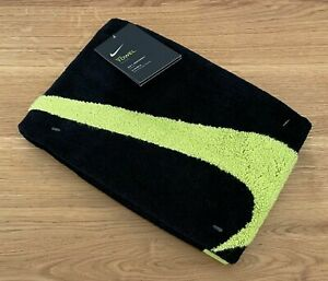 Nike Sport Towel, AC2093-023, Black/Volt