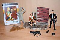 Tomb Raider Figures and PC Game Lara Croft Playmates Stone Monkey bundle joblot