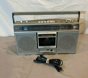 Vintage 1981 Panasonic RX-5020 AM/FM Stereo Cassette Boombox BAD CASSETTE PROP
