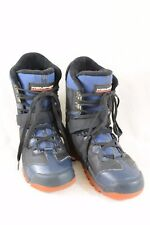 KEMPER Snowboard Shoes Boots Black and Navy Mens Size 13  A61