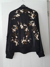 BNWT ZARA ORIENTAL EMBROIDERED BOMBER JACKET SZ M SOLD OUT