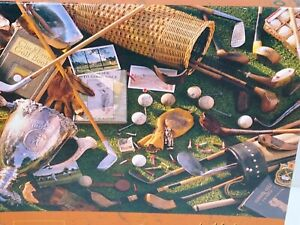 Springbok Golf The Good Old Days 500 piece jigsaw puzzle COMPLETE