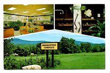 Brookstone Company Peterborough New Hampshire Postcard Unique Gifts 1978 Post