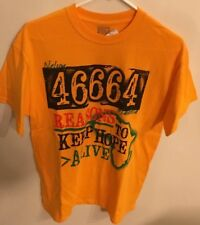 Black History Month, Unisex Nelson Mandela 46664 Reasons To Keep Hope Size Med
