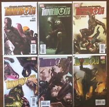 """Thunderbolts  #116 117 118 119 120 121  """"Caged Angels""""  Lot   (2008)  VF/NM"""