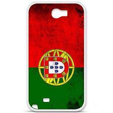 Coque housse étui tpu gel motif drapeau Portugal Samsung Galaxy Note 2 N7100