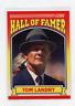 1990 SCORE HALL OF FAMER  # 597   TOM LANDRY , DALLAS COWBOYS