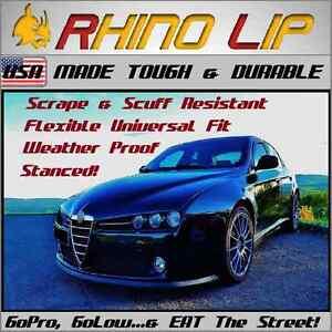Alfa-Romeo * Brera 8C 147 156 159 164 166 4C GT * Front Bumper Chin Lip Splitter