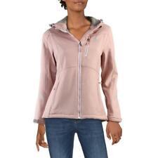 Reebok женские легкие подчеркнутой сзади с капюшоном активный мягкую куртку