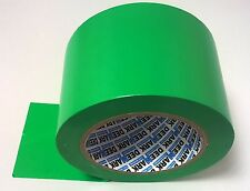 6 Rolls 100mm 33m Silage GREEN Tape Agricultural Bale Agri Bag Repair Farm PVC