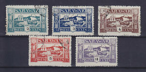 SARAWAK UNLISTED SET OF 5, LOCAL POST? PRIVATE ISSUE?