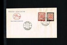 [FF071] 1958 - Italy FDC - Stamps & Coins - Stamps on stamp/cover - Stamps from