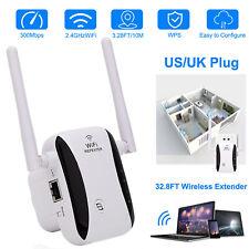 Wireless WiFi Signal Range Extender Repeater Network Booster Amplifier Internet