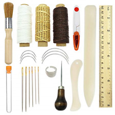 Bookbinding Tools Kits, Premium Sewing Tools for Leather,Handmade Books and DIY