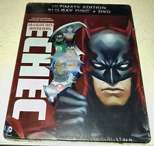 New Justice League Doom Blu-ray/DVD Steelbook™ France DCU Animation