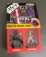 Darth Vader Bespin Luke Skywalker STAR WARS 2007 Father's Day Card MIB