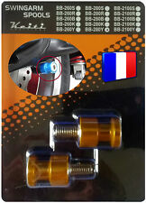 2 DIABOLO BEQUILLE JAUNE GSR 600 GSX 750 1100 GSX-F LS