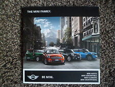 Mini Hatch Convertible Clubman Countryman UK Market Brochure 2011 68 Pages