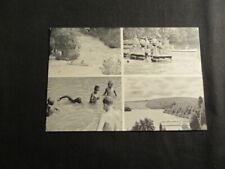 Broad Creek Memorial Scout Camps Postcard, 1960-70's      j21