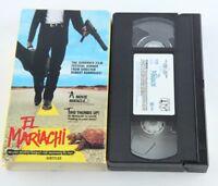 El Mariachi Robert Rodriguez VHS Tape Subtitled 1993