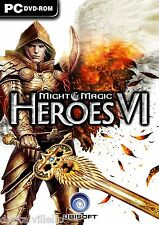 Might & Magic Heroes VI 6 PC Brand New Sealed Fast Shipping