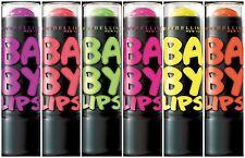 MAYBELLINE BABY LIPS ELECTRO LIP BALM GIFT SET 6 BALMS NEW SEALED