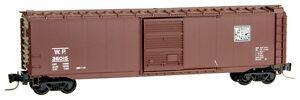NIB Z MTL #50500341 50' Single Door Boxcar Western Pacific #36010