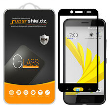 Supershieldz HTC Bolt Full Cover Tempered Glass Screen Protector (Black)