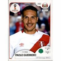 Panini WM 2018 248 Paolo Guerrero Peru World Cup WC 18