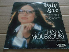 "NANA MOUSKOURI "" ONLY LOVE "" SOUNDTRACK FROM MINI SERIES 7"" SINGLE 1985 EX/VG+"