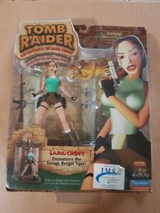 lara croft tomb raider bengle tiger figure
