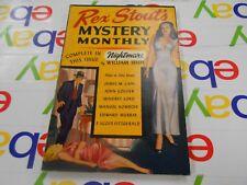 Rex Stout Mystery Monthly-1946- Avon- Nightmare by William Irish & More!!!!
