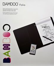 Wacom Bamboo Folio large Digitaler Notizblock Smartpad A4, Stift - Neu & OVP