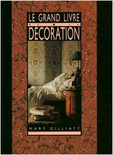 Livre le grand livre de la décoration Mary Gilliatt book
