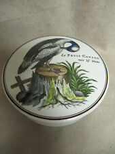 VILLEROY & BOCH PARADISO BROWN LARGE CANDY BOX WITH LE PETIT CANARD DESIGN