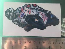 Scott Redding Sticker / Decal-Pramac Ducati Moto Adhesivo - 120mm X 60 Mm Nueva!