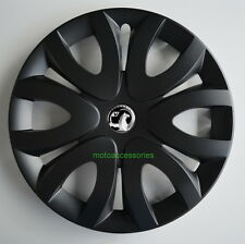 4x16'' Wheel trims Hub caps for Vauxhall Vivaro 16''  black matt