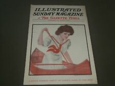 1908 AUGUST 9 ILLUSTRATED SUNDAY MAGAZINE - GREAT COVER & ADS - SP 9478