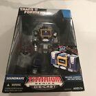 Hasbro Titanium Series Transformers 6 Cyber Hero Soundwave Action Figure For Sale