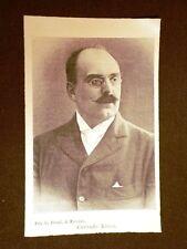 Deputato nel 1902 Corrado Ricci