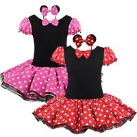 Kids Girl Baby Fancy Outfit Party Dress Up Halloween Costume Cosplay Xmas Fancy
