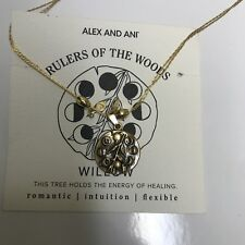 ALEX AND ANI WILLOW EXPANDABLE NECKLACE - RULERS OF THE WOODS COLLECTION NWT!