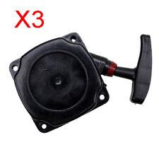 3x Black Pull Start Starter 33 43cc 49cc 2 Stroke Scooter Pocket Bike ATV DIRT Q