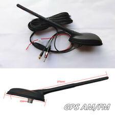 GPS AM/FM Radio Stereo Aerials Antenna Signal Amplifier Car Roof Thru Hole Mount