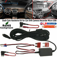 Nextbase Hard Wire Kit Car Micro USB DC Charger Power For Dash Cam DVR Recorder
