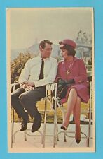 FILM STARS - UNIVERSAL PICTURES  -  ROCK  HUDSON  &  GINA  LOLLOBRIGIDA  -  1965