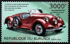 1935 MERCEDES-BENZ 150 Sports Roadster Car Stamp (2012)
